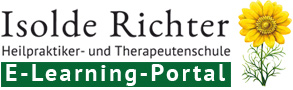 Logo des E-Learnings der Heilpraktikerschule Isolde Richter